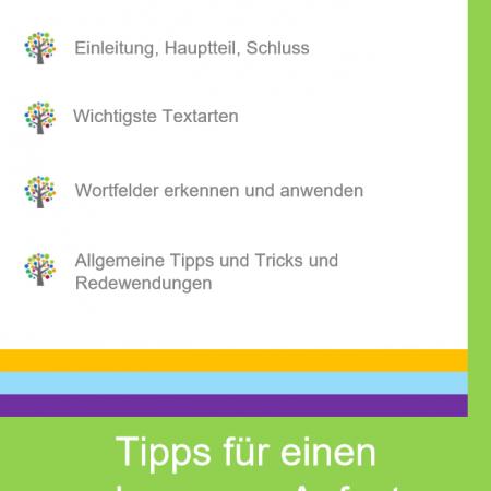 ebook dein perfekter aufsatz - Wortfelder Beispiele